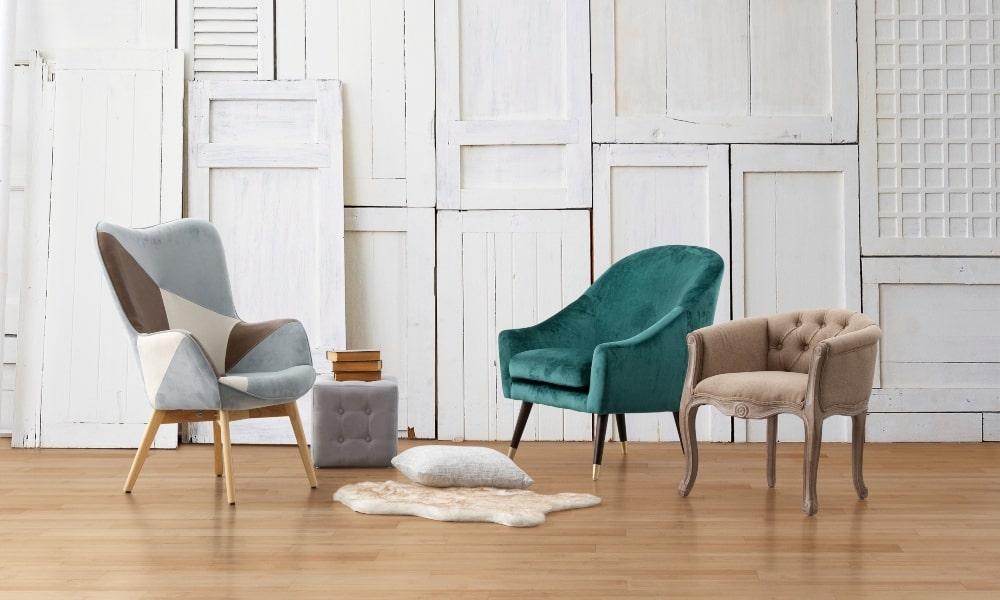 muebles shabby chic: combinar sillon estilo romántico con diferentes estilos