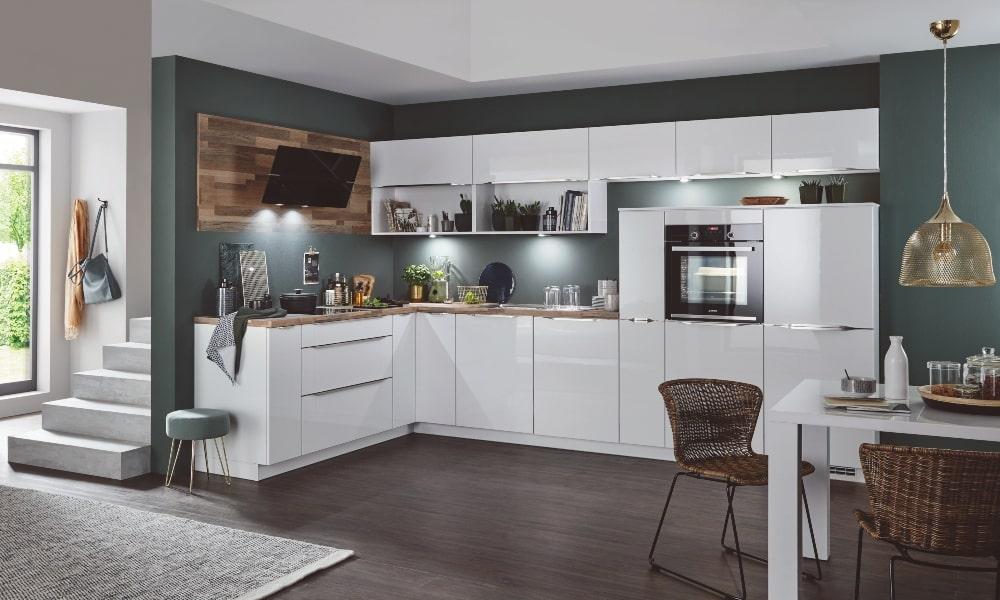 aprovechar esquina cocina moderna