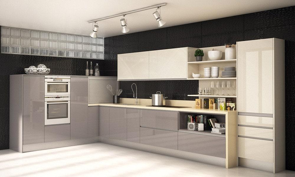 cocina abierta o cerrada: cocina integrada al salon