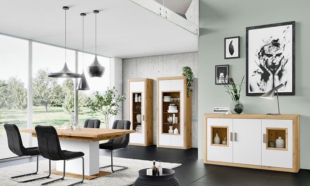 como distribuir una casa rectangular moderna