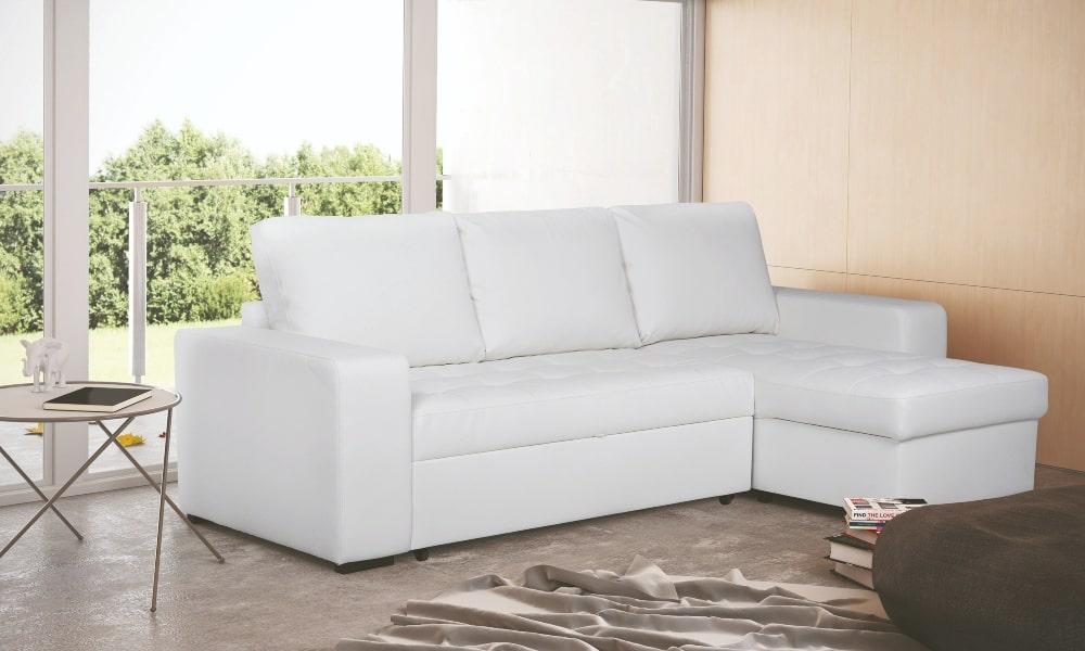 como limpiar sofa de piel blanco