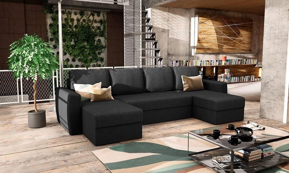 combinar sofa gris oscuro
